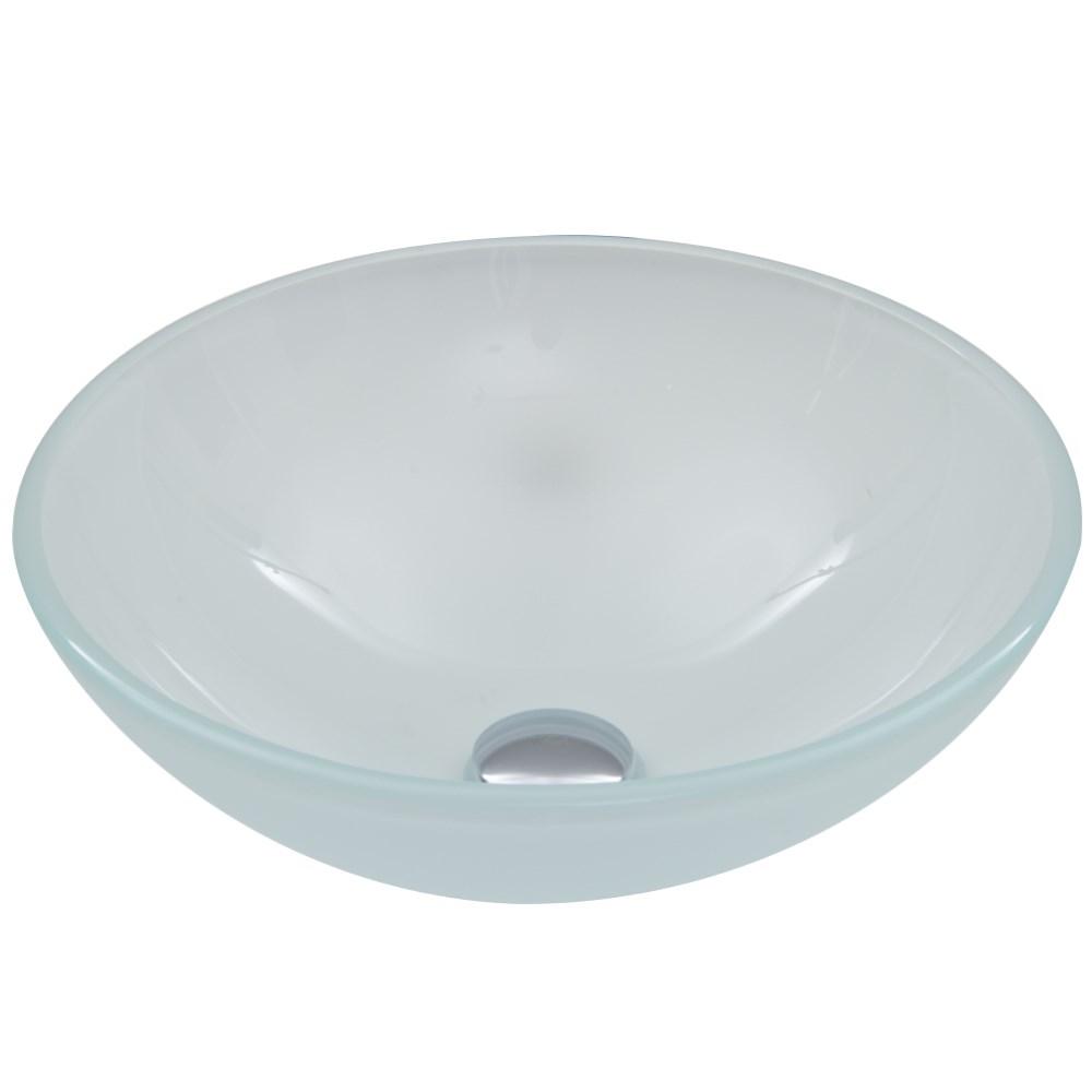 Vigo Frost Glass Vessel Sink - Whitenohtin Sale $99.90 SKU: VG07043 :