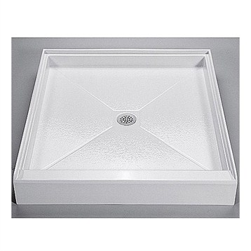 "MTI MTSB-3636 Shower Base, 36"" x 36"" by MTI"