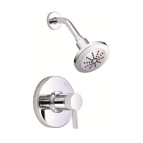 Danze Amalfi Trim Only Single Handle Pressure Balance Shower Faucet - Chromenohtin