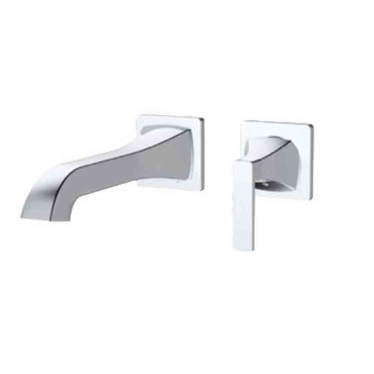 fluid Oceanside - Single Lever Wall Mounted Faucet Trim Set F23008T-