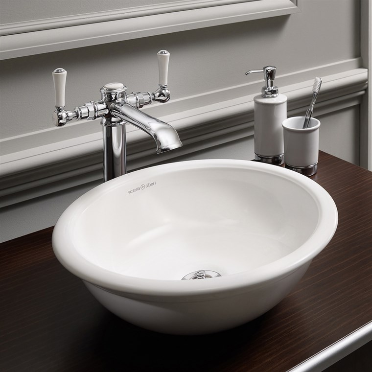 Drayton 40 Vessel Sink by Victoria and Albert VB-DRA-40-NO (CS718)