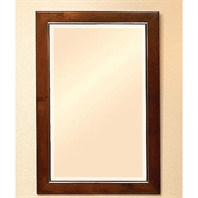 "Fairmont Designs 22"" Concorde Mirror - Warm Cognac 140-M22"