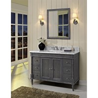 "Fairmont Designs Rustic Chic 48"" Vanity for 1-1/4"" Top - Silvered Oak 143-V48"