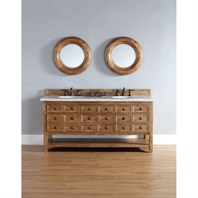 "James Martin 72"" Malibu Double Vanity - Honey Alder 500-V72-HON"