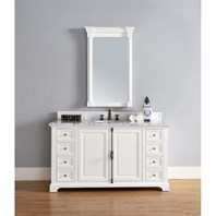 "James Martin 60"" Providence Single Cabinet Vanity - Cottage White 238-105-V60S-CWH"