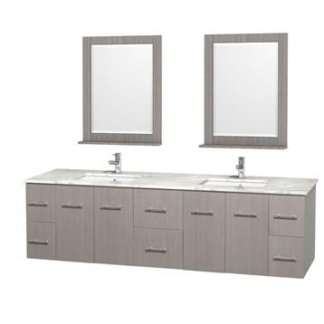 "Bathroom Vanity Undermount Sink centra 80"" double bathroom vanity for undermount sinkswyndham"