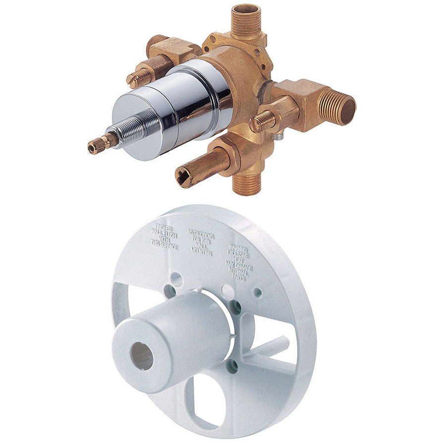 Danze® Single Control Pressure Balance Mixing Valve with Diverter & Screwdriver Stopsnohtin Sale $126.75 SKU: D113000BT :
