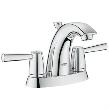 """Grohe Arden 4"""" Lavatory Centerset, Starlight Chrome GRO 20388000 by GROHE"""
