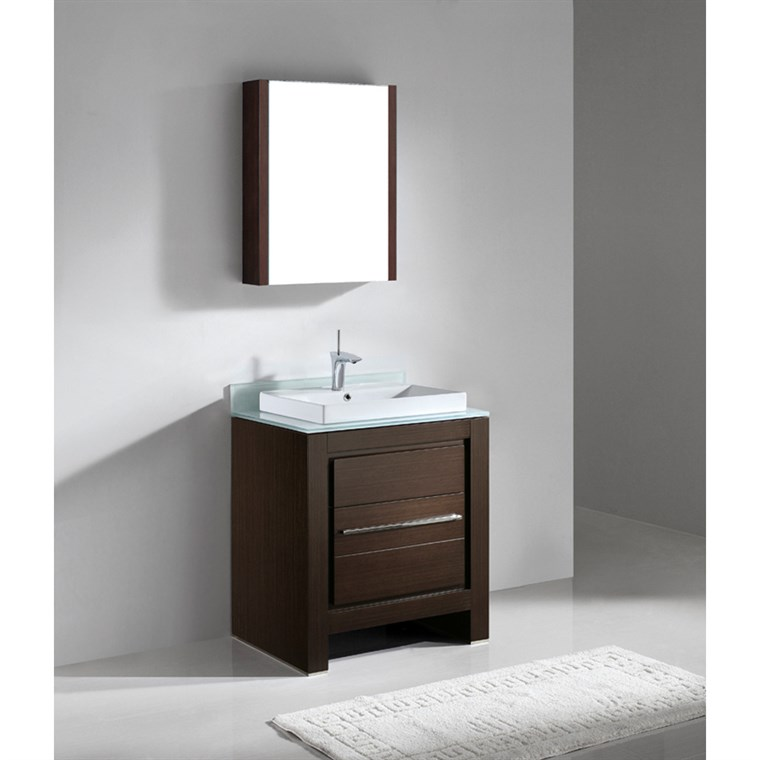 "Madeli Vicenza 30"" Bathroom Vanity - Walnut B999-30-001-WA"