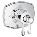 Grohe GrohFlex Single Function Thermostatic Trim with Control Module - Starlight Chrome GRO 19822000