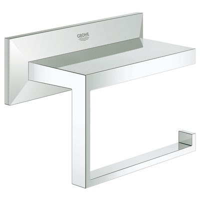 Grohe Allure Brilliant Paper Holder - Starlight Chrome GRO 40499000
