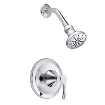 Danze Antioch Trim Only Single Handle Pressure Balance Shower Faucet, Chrome D513522T by Danze