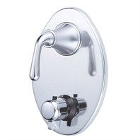 Danze® Bannockburn™ Two Handle Thermostatic Shower Trim Kit - Chrome