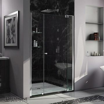 """Bath Authority DreamLine Allure Shower Door, 48""""-55"""" by Bath Authority DreamLine"""