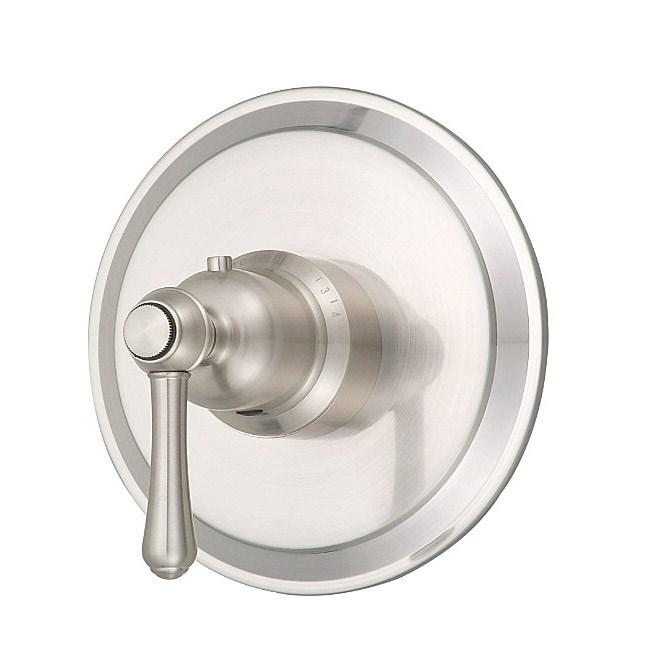 "Danze® Opulence™ Single Handle 3/4"" Thermostatic Valve Trim Kit - Brushed Nickelnohtin Sale $213.75 SKU: D562057BNT :"