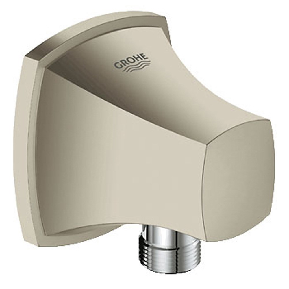 Grohe Grandera Shower Outlet Elbow - Brushed Nickelnohtin