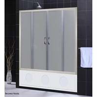 "Bath Authority DreamLine Visions Frosted Glass Tub Door (56"" - 60"")"