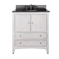 "Avanity Westwood 30"" Bathroom Vanity - White Washed WESTWOOD-30-WW"