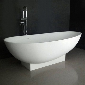 Ruth 71 Soaking Bathtub With Integrated Pedestal Free Shipping Mode