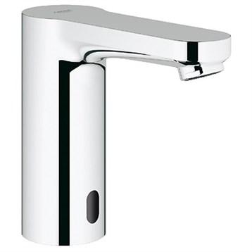 Grohe Eurosmart Cosmopolitan E Electronic Single-Hole Basin Faucet, Starlight Chrome GRO 36329000 by GROHE