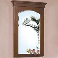 "Fairmont Designs 26"" Lifestyle Collection Shaker Mirror - Warm Cherry"