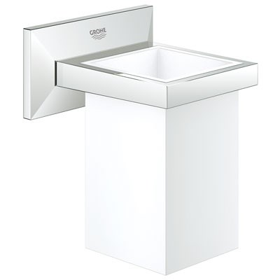 Grohe Allure Brilliant Tumbler with Holder - Starlight Chrome GRO 40493000