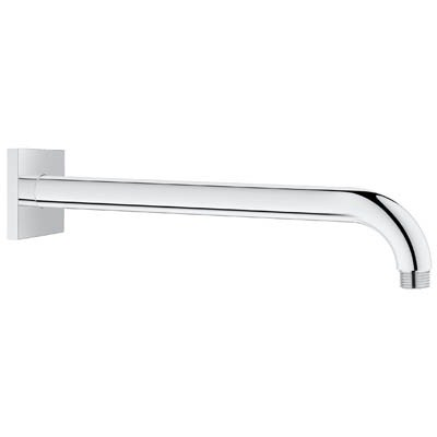 "Grohe Rainshower 12"" Shower Arm with Square Flange - Starlight Chromenohtin Sale $89.99 SKU: GRO 27489000 :"