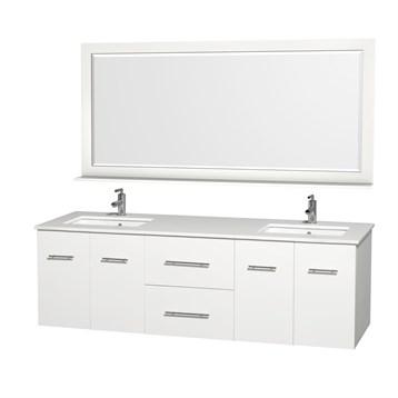Centra Double Bathroom Vanity For Undermount Sinks By Wyndham - Wyndham bathroom vanities