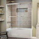Bath Authority DreamLine Encore 56 - 60 in. W x 58 in. H Bypass Sliding Tub Door SHDR-1660580