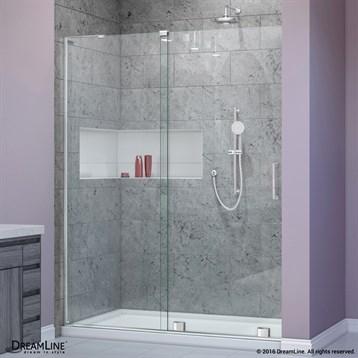 Bath Authority DreamLine Mirage-X 44, 60 in. W x 72 in. H Sliding Shower Door SHDR-1948723 by Bath Authority DreamLine