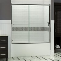 "Bath Authority DreamLine Infinity-Z Frameless Sliding Tub Door (60""), Clear Glass SHDR-0960580"