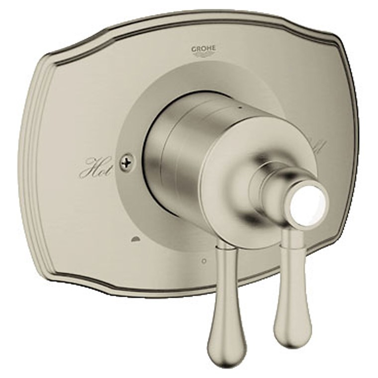 Grohe GrohFlex Authentic Dual Function Pressure Balance Trim with Control Module - Brushed Nickel GRO 19844EN0