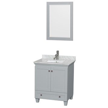 Acclaim 30 in. Single Bathroom Vanity by Wyndham Collection - Oyster Gray