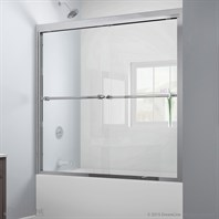 "Bath Authority DreamLine Duet Bypass Sliding Tub Door (56""-59"") SHDR-1260588"