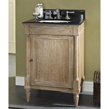 Fairmont Designs Rustic Chic 24 Vanity Weathered Oak Free Shipping Modern Bathroom