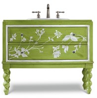 "Cole & Co. 39"" Designer Series Tessa Sink Chest - Spring Green 11.22.275539.56"