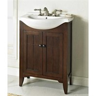 "Fairmont Designs Prairie 26"" Vanity & Sink Set - Cognac 169-V26"