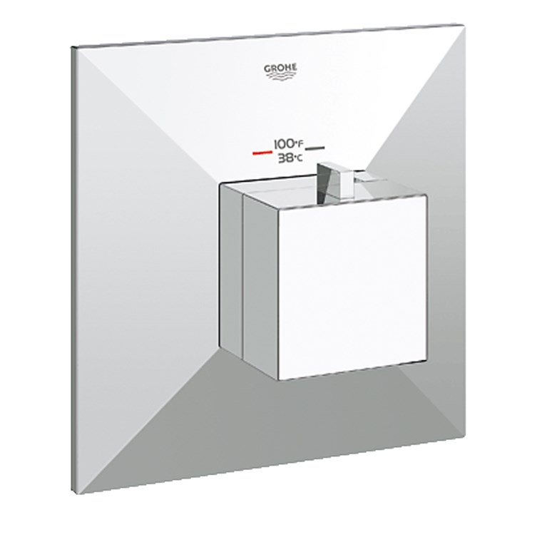 Grohe GrohFlex Allure Brilliant Custom Shower Thermostatic Trim with Control Module - Starlight Chrome GRO 19795000