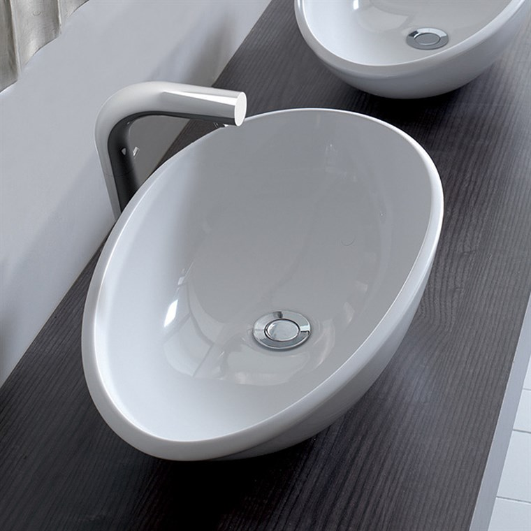 Napoli 57 Vessel Sink by Victoria and Albert VB-NAP-57-NO (CS718)