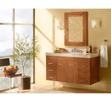 "Ronbow Bella 48"" Vanity Undermount, Cinnamon Ronbow 011223-F08-48 by Ronbow"