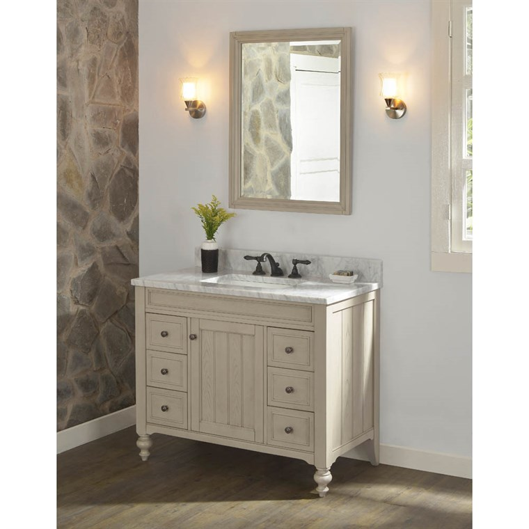 "Fairmont Designs Crosswinds 42"" Vanity - Slate Gray 1524-V42"