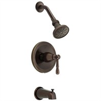 Danze Eastham Trim Only Single Handle Tub & Shower Faucet - Tumbled Bronze D500015BRT