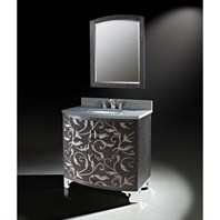 "Luxe Clarendon 36"" Single Bathroom Vanity - Marquetry Low Sheen B7044BV36-X561"