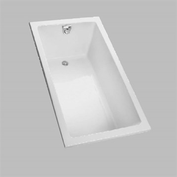"Toto 60"" Enameled Cast Iron Drop-In Bathtub FBY1550P by Toto"
