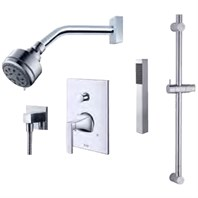 fluid Oceanside - Handheld Shower with Slide Bar Trim Package F2354T-
