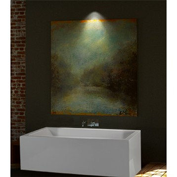 "MTI Andrea 13A Freestanding Sculpted Tub, 65.75"" x 41.875"" x 25.125"" MTDS-103A by MTI"