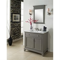 "Fairmont Designs 36"" Smithfield Vanity - Medium Gray 1504-V36"