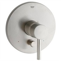 Grohe Essence Pressure Balance Diverter Valve Trim - Infinity Brushed Nickel