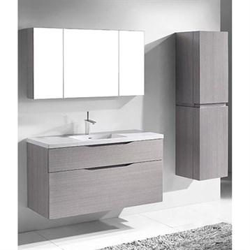 "Madeli Bolano 48"" Single Bathroom Vanity for Integrated Basin, Ash Grey B100-48C-022-AG by Madeli"