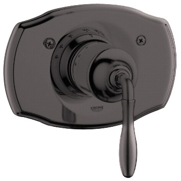 Grohe Seabury Thermostat Trim with Lever Handle - Oil Rubbed Bronzenohtin Sale $294.99 SKU: GRO 19614ZB0 :
